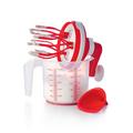 Tupperware Easy-Mixx Für Sahne, Eischnee, selbstgemachte Mayonnaise, Cremes oder Pfannkuchen/Waffelteig