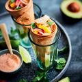 Tupperware Cornetti-Set (8) selbstgemachte Hörnchen als Vorspeise mit Avocado