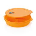 Tupperware To-Go Aufwärm-Set (2)  Menüteller für die Mikrowelle