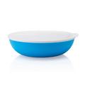 Tupperware Allegra 3,5 l blau-weiß blaue Salatschüssel