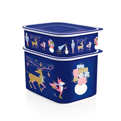 Tupperware Weihnachts-Quadros