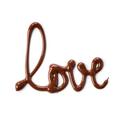 Tupperware Dekozauber Love mit Dekostift geschrieben