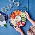 Tupperware Clear Collection 2,0 l flach Schöne flache durchsichtige Schüssel, perfekt zum Servieren von Gemüsesticks