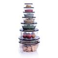 Tupperware Clear Collection 6,0 l Durchsichtiger Schüsselturm der Clear Kollektion
