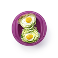 Tupperware Spiralino Eier auf Zucchininester