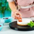 Tupperware MicroPro Ring Ring für kleine Kuchen in der Mikrowelle