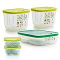 Tupperware KlimaOasen-Set (5) perfektes Klima für Obst und Gemüse im Kühlschrank