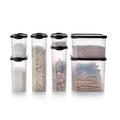 Tupperware Eidgenosse oval 1,1 l Behälter für Trockenvorrat wie Cornflakes, Couscous oder Nudeln