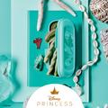 Tupperware Prinzessinnen-Box Arielle offene grüne Arielle Box