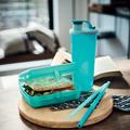 Tupperware Eco+ Sandwich-Box Brotdose zum Mitnehmen von Broten oder Snacks
