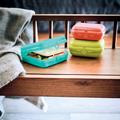 Tupperware Eco+ Twin-Set (2) Brotdose zum Mitnehmen von Broten oder Snacks
