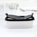 Tupperware Eidgenosse oval 500 ml kleiner Vorratsbehälter