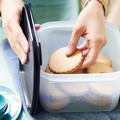 Tupperware Maxi-Eidgenossen-Set praktischer quadratischer Behälter für Kekse