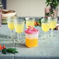 Tupperware Kleines Erfrischer-Set Behaelter mit Ausgießer für Saft oder Salatdressing