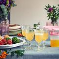 Tupperware Kleines Erfrischer-Set Behälter mit Ausgießer für Saft oder Salatdressing