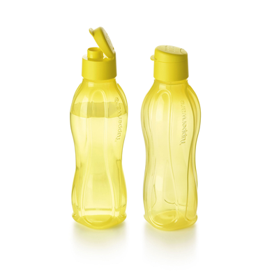 Tupperware EcoEasy Trinkflasche 750 ml gelb