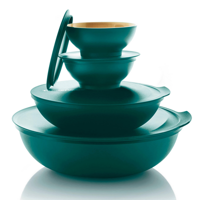 Tupperware Allegra Shine-Set