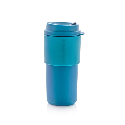 Tupperware Eco+ Kaffeebecher blau