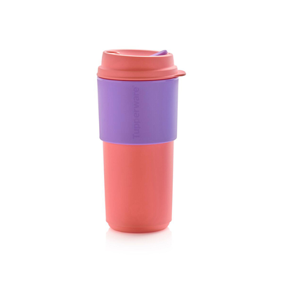 Tupperware Eco+ Kaffeebecher lachs