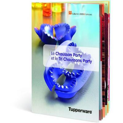 """Tupperware Livret """"Chausson Party et Tri Chaussons Party"""""""