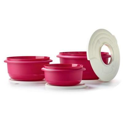 Tupperware Set de 3 Bols à pâtisserie (1 l, 2 l, 3,5 l)