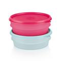 Tupperware Stapel-Quick (2) Runde Behälter für den Kühlschrank