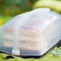 Tupperware Plateau On the go rectangulaire Plateau on the go rectangulaire tupperware