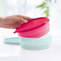 Tupperware Stapel-Quick (2) Stapelbare Kühlschrankbehälter