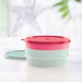 Tupperware Stapel-Quick (2) Behälter für kleine Salate oder zum servieren von Dipps