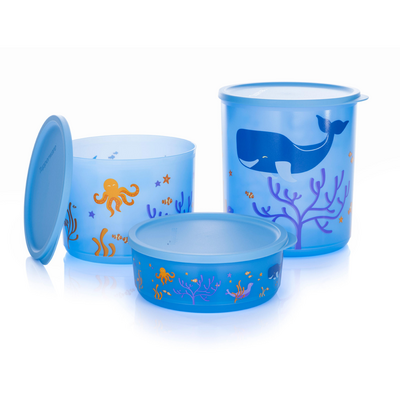 Tupperware Cubix-Set (3)