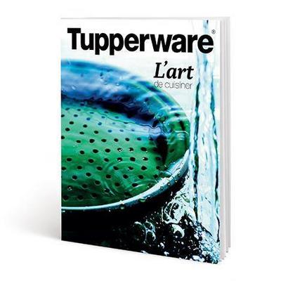 """Tupperware Livre """"L'art de cuisiner"""""""