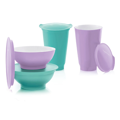 Tupperware Allegra Party-Set (4)