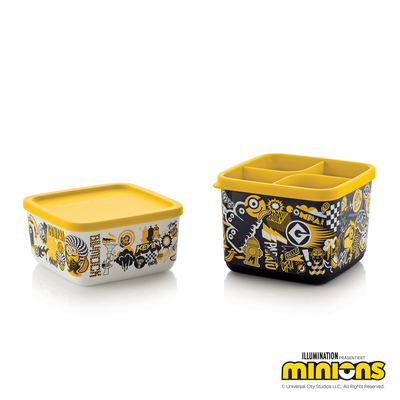 Tupperware Bello Minions (2)