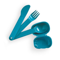 Tupperware Besteck & Go Wiederverwendbares Besteck mit Etui für unterwegs