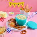 Tupperware Chip´N Dip Behälter für kleine Portionen Brezeln oder Dipp