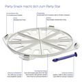 Tupperware Party-Snack Beschreibung für Croissent Produkt
