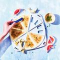 Tupperware Party-Snack für Knoblauch Teigtaschen