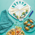 Tupperware Party-Snack kreative Ideen für selbstgemachte Croissents mit Schinken und Spargel