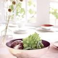 Tupperware Allegra Metallic 3,5 l Wunderschöne Salatschüssel aus Metall