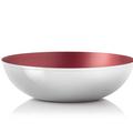 Tupperware Allegra Metallic 1,5 l praktische und schöne Salatschüssel aus Metall