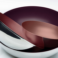 Tupperware Allegra Metallic 1,5 l Edele Schüsseln aus Metall
