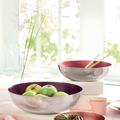 Tupperware Allegra Metallic 1,5 l Edele Metall Schüsseln für Obst