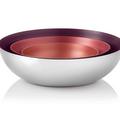 Tupperware Allegra Metallic 1,5 l Innovative Salatschüsseln aus Metall
