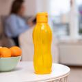 Tupperware Flaschenpost gelb Beim Sport perfekt