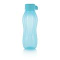Tupperware Flaschenpost blau mini Flasche für Ingwershots