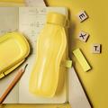 Tupperware Flaschenpost gelb kleine Eco Flasche für die Handtasche