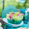 Tupperware Eleganzia 4,6 l Perfekte Salatschüssel für Grillnachmittage