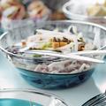 Tupperware Eleganzia 4,6 l perfekt zum Servieren von Salaten auf dem Tisch
