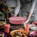 Tupperware Frische-Set Schüssel 2,0 l Flache Schüssel für Salate oder eingelegtes