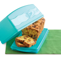 Tupperware Junge Welle Kastenkuchenbehälter Perfekt für länglichen Kuchen